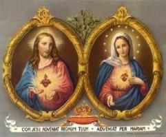 Coração Jesus e Maria_Melinha enviou