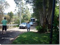 A comitiva dos participantes do V Encontro chega à Fazenda Paraizo_destaque para João Pacheco