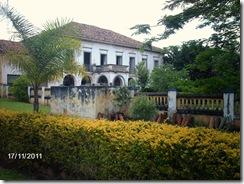 Antiga Casa Sede da Fazenda Paraizo visitada pelos participantes do V Encontro