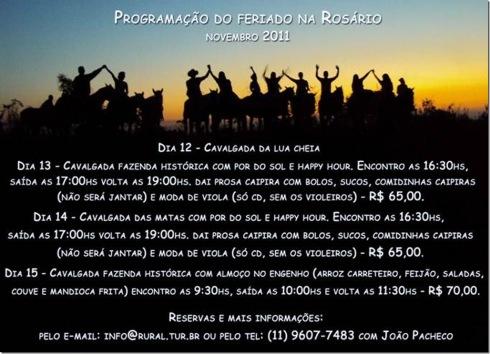 Cavalgada do feriado na Rosário em Itu SP_novembro 2011