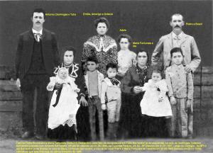 Pietro, Maria, filhos, neto e nora_inserções 30set2013